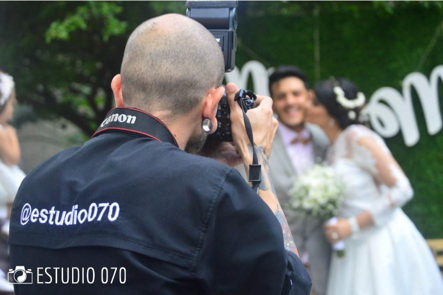 Fotógrafo profesional Estudio 070