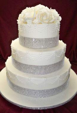 cinta brillante pastel 15 años