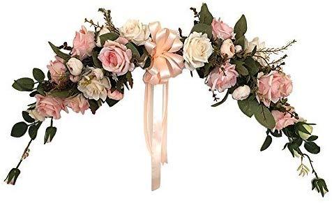 guirnalda de flores decoración