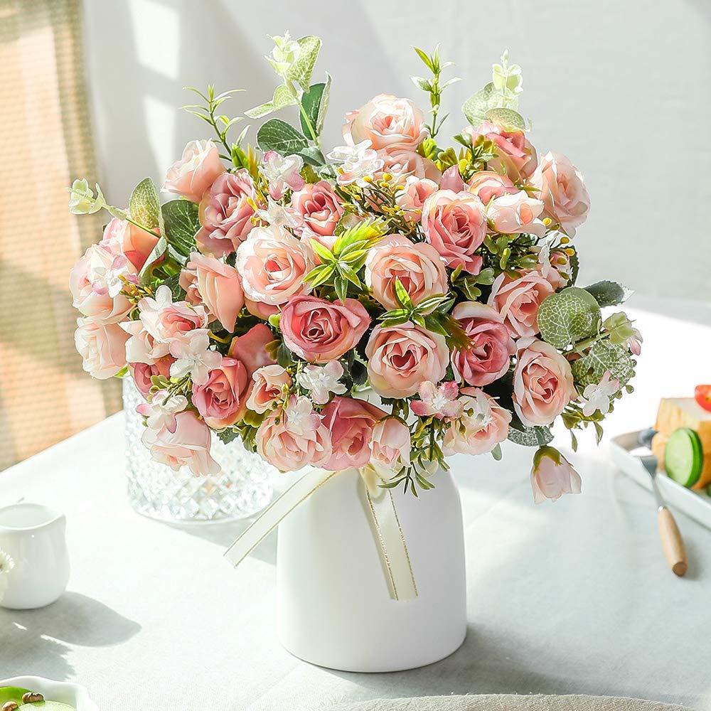 rosas decoración boda