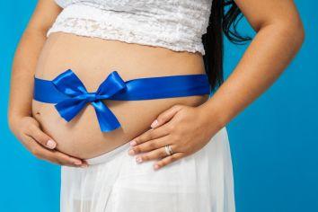 Sesión embarazo lazo
