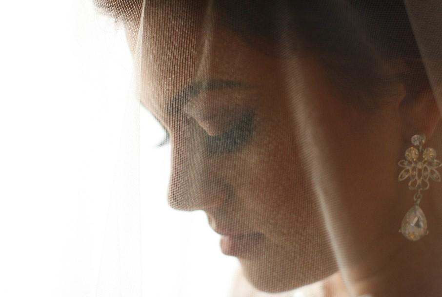 Close up novia