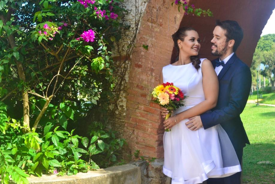 Post boda en jardín