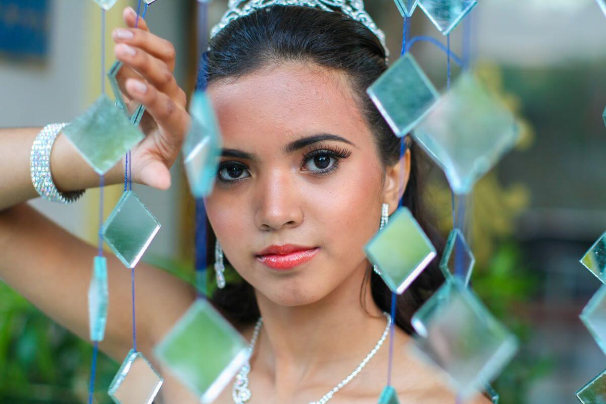 Retrato quinceañera