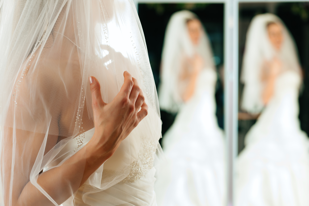 Probar vestido de novia