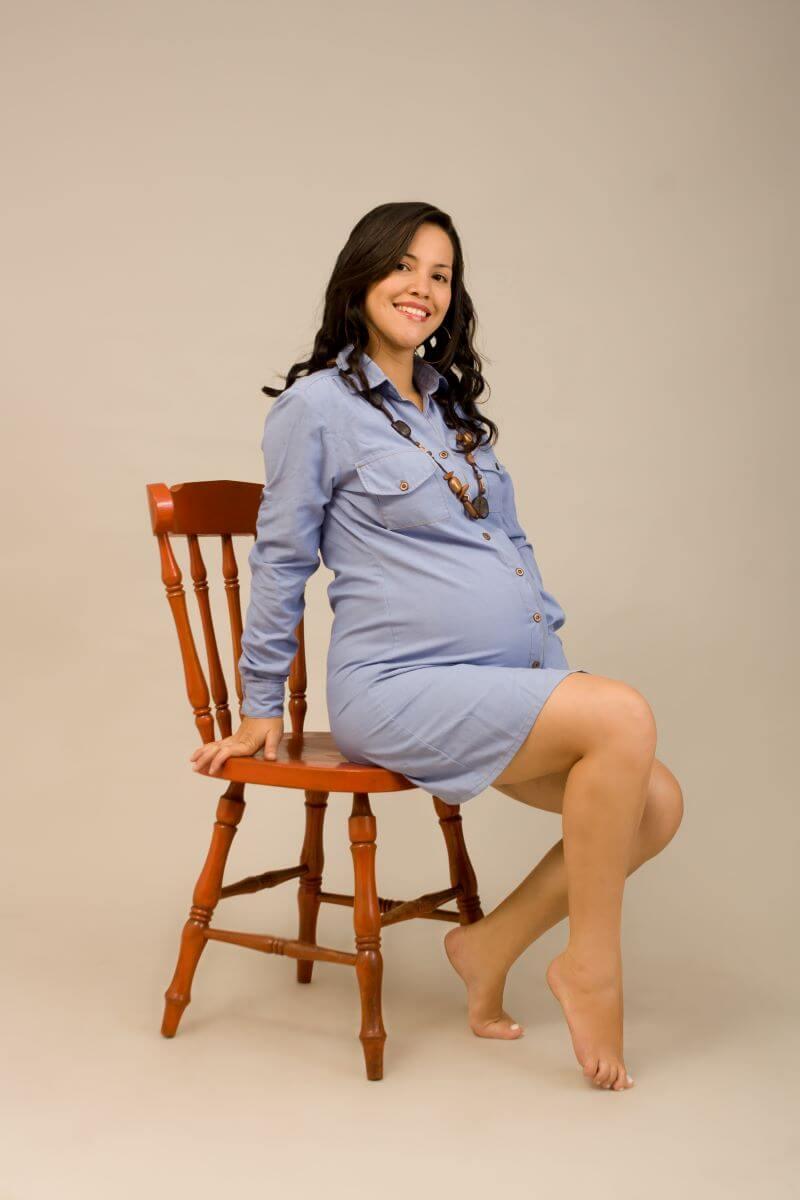 Sesión de fotos embarazada