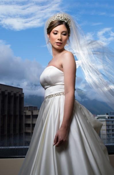 arreglo de la novia el día de su boda