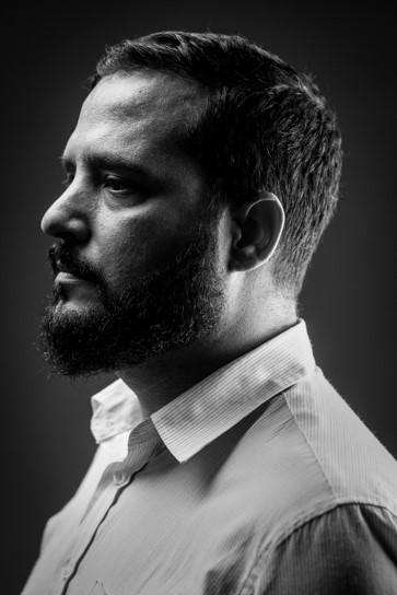 retrato profesional en estudio fotografico