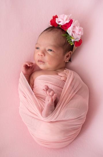 sesion fotográfica bebe recién nacido